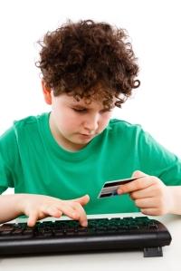 Poika ja luottokortti